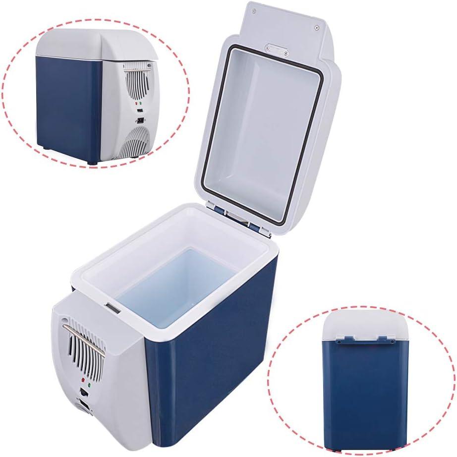 CWWHY 7.5L car Refrigerator, Mini Refrigerator, car Cold/hot Refrigerator