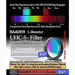 Baader Planetarium UHC-S Nebula Filter 1.25\