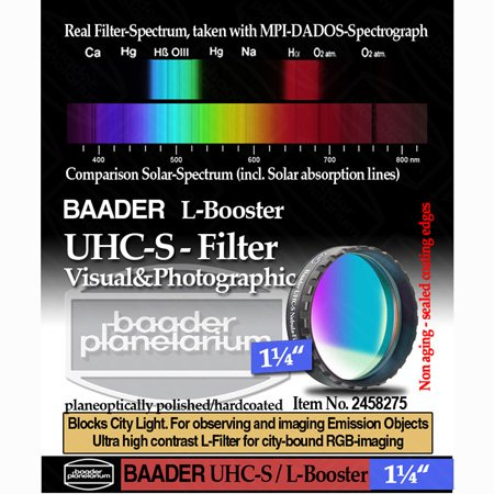 Baader UHC-S Nebula Filter - 1.25'' # FUHC-1 2458275 by Baader Planetarium