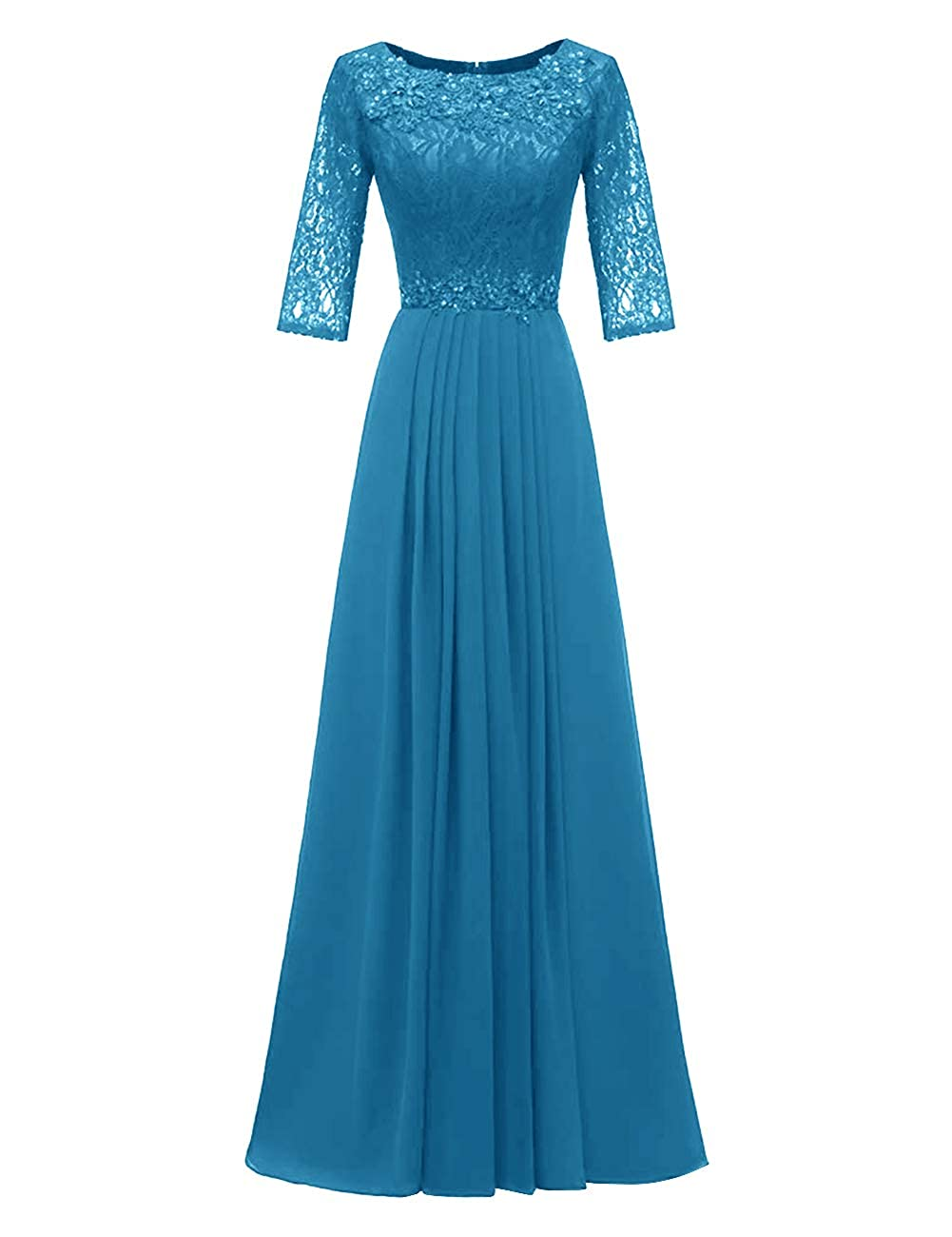 bluee H.S.D Evening Dresses Long Prom Dresses Lace Bridesmaid Dresses Evening Formal Gowns