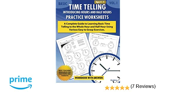Basic Time Telling - Introducing Hours and Half Hours - Practice ...