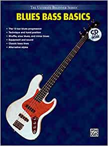 12-Bar Blues The Complete Guide for Bass Bass Instruction Book and CD 000696481