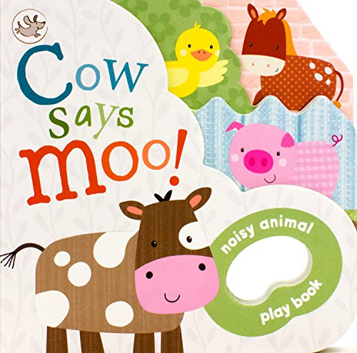 Little Moo Cow - Cow Says Moo! (Little Learners) (Noisy Animal Play Book)