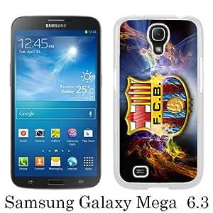 Fashionable Samsung Galaxy Mega 6.3 I9200 Case ,Unique Designed With Barcelona 2 white Samsung Galaxy Mega 6.3 I9200 Cover High Quality Phone Case