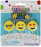 Emoji Birthday Candles   Party Supply