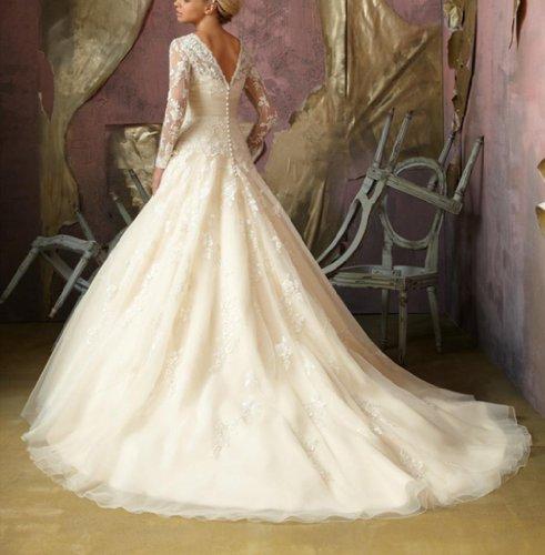 Damen Tüll Kleidungen Meerjungfrau Schleppe Dearta Ausschnitt Brautkleider Hof Weiß Herz dq0wFZ5