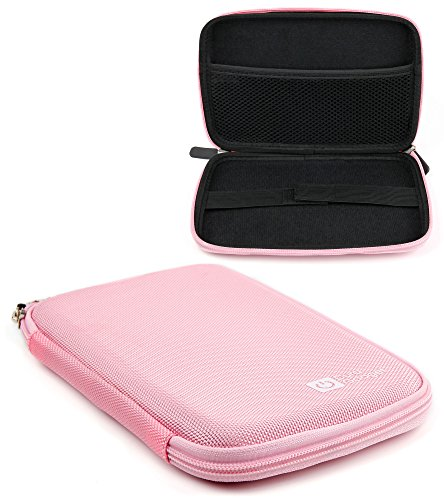 DURAGADGET Light Pink Clam Style Pouch with Soft Lining - Suitable for Use with PIPO Smart-S1 Tablet (Smart Pipo S1)