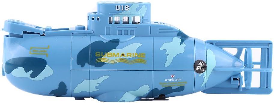 Mini RC U-Boot-Funkfernbedienungsboot mit LED-Licht für Kinderspielzeug
