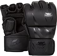Venum Challenger MMA Gloves, Black/Black, Medium