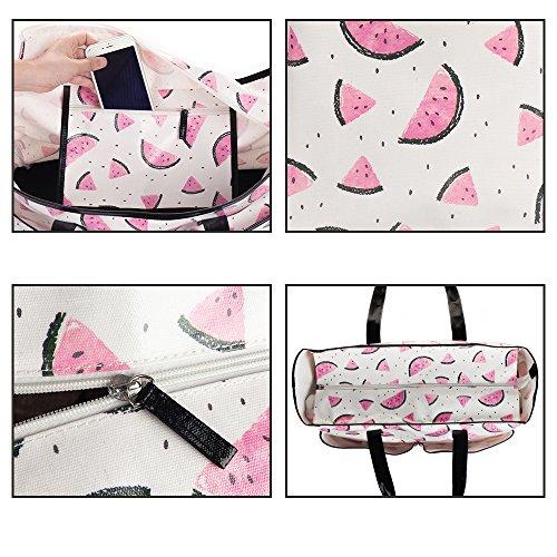 Viva Terry Large Waterproof Beach Travel Tote bag Handbag Organizers- Watermelon by Viva Terry (Image #3)