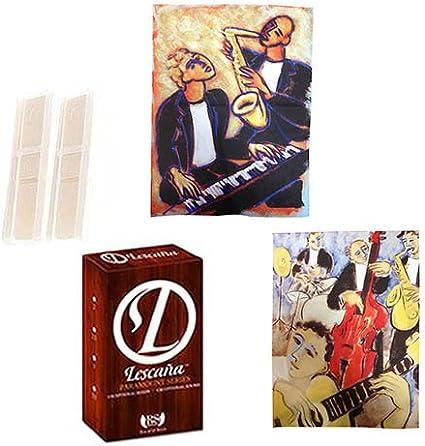 Lescana Paramount Series 50 Pack Soprano Saxophone Reeds Strength 2 /& Strength 2.5 50 Pack ASSORTED STRENGTH Bundle