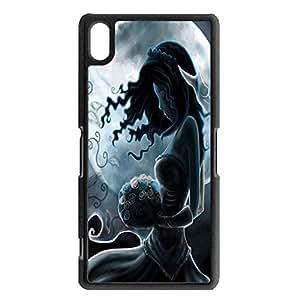 Pretty Sexy Emily Fantasy Cartoon Movie Tim Burton'S Corpse Bride Phone Case Cover for Sony Xperia Z2 Animaticn Classical Shell Case