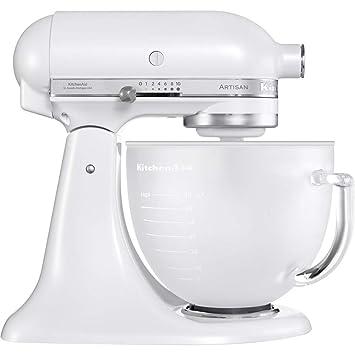 Amazon.de: KitchenAid Küchenmaschine Artisan 4, 8L Frosted Pearl Weiß