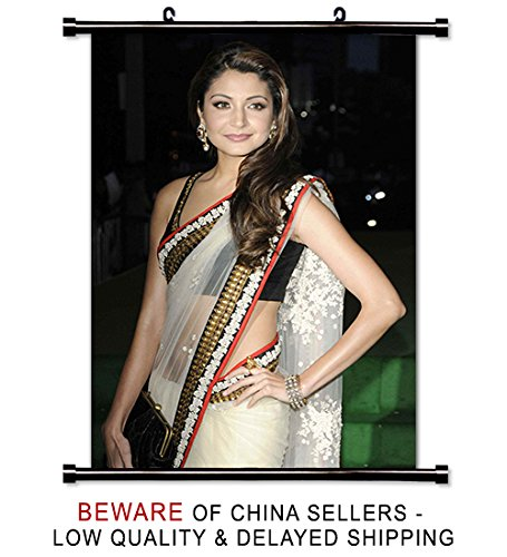Anushka Sharma Actress Wall Scroll Poster (16x23) Inches ()