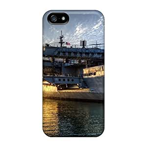 Protective PC Case With Fashion Design For SamSung Galaxy S4 Mini Phone Case Cover (fantastic Old Aircraft Carrier Hdr)