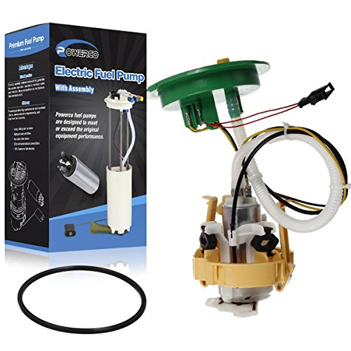 POWERCO Electric Fuel Pump Module Replacement For BMW 745i 2002 2003 2004 2005 V8 4.4L and 750Li 2006 2007 2008 V8 4.8L 16117194000