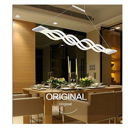 JLRQY Iluminación LED Moderna Lámpara Colgante, Luces Colgantes Luminaria Dimmable 3000-6000K Luces para Sala De Estar del...