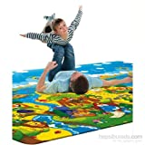 Serra Baby Dino Adventure Game Mat 230x140cm, thickness 15mm