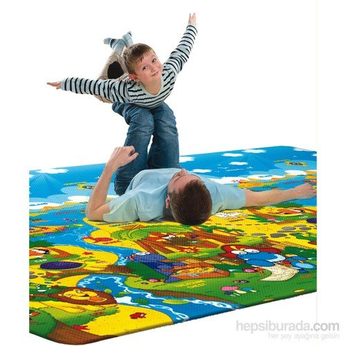 Serra Baby Dino Adventure Game Mat 230x140cm, thickness 15mm by Serra Baby