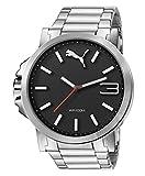 Best Puma Watch Bands - PUMA Unisex PU103461003 Ultrasize metal black Analog Display Review