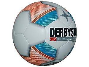 Derbystar Fußball Brillant TT Hyper Edition, Trainingsball Größe 5 in weiß...