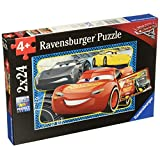 Ravensburger 7808 Disney Cars 3 I Can Win 2 In A Box Puzzle (24 Piece)