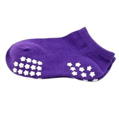 8 paires antidérapante bébé nouveau-né chaussettes bébé Chaud Chaussettes bébé cadeau 9-12 CM pour bébé 0-1 ans-A10