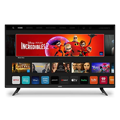 VIZIO 24-inch D-Series – Smart TV with Full HD 1080p, Apple AirPlay & Chromecast Built-in (D24f-G1, 2020)
