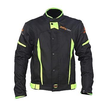 Xianheng Traje de Ciclismo - Chaqueta de Moto Motocicleta para Invierno Caliente Impermeable Contra Viento Profesional con Set de Equipo de Protección ...
