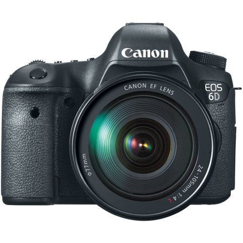Canon EOS 6D 20.2 MP CMOS Digital SLR Camera with 3.0-Inch LCD and EF 24-105mm f/4L IS USM Lens Kit – Wi-Fi Enabled