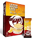 YUP Brands B-Up Protein Bar, Lemon Pound Cake, 12 Count