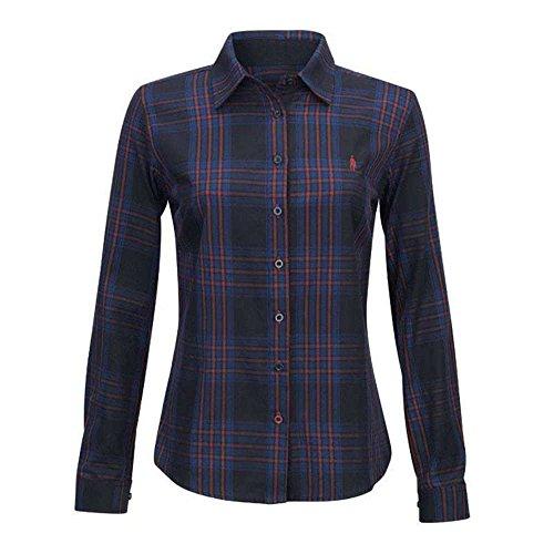 Jack Murphy BIANCA Shirt Burnt Blue 5iwlF