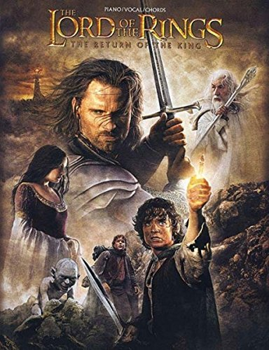 - The Lord of the Rings: The Return of the King (Piano/Vocal/Chords)