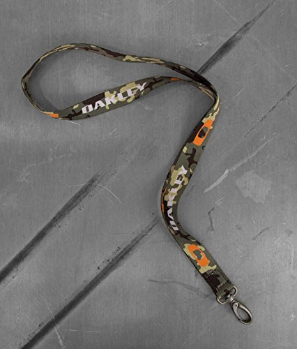 (Oakley Square O ID Badge Holder Lanyard - Camo Green)