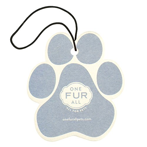 One Fur All Pet House Car Air Freshener, Pack of 4