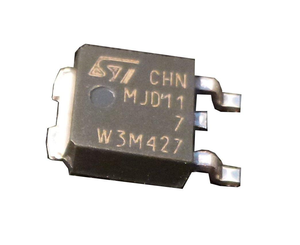 20 pieces MJD117 PNP POWER DARLINGTON TRANSISTOR | 2A | Vceo 100V | Vcbo 100V | Ptot 20W | DPAK (TO-252) Package