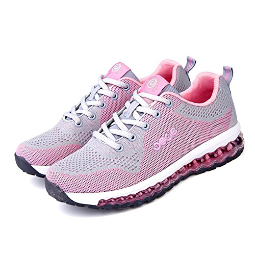 Running Lightweight Casual Sport Mesh Mens Leisure Cushion Shoes Athletics D Shoes Air Pink M US 9 n08WwWRx