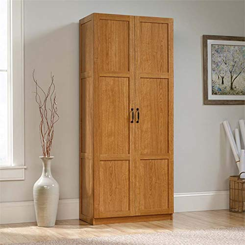 Sauder Oak-finish Cabinet