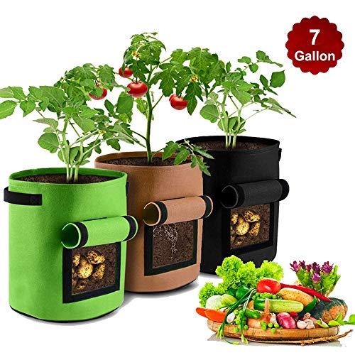 GEMGO Grow Bags Potato Planter Bags 7 Gallon