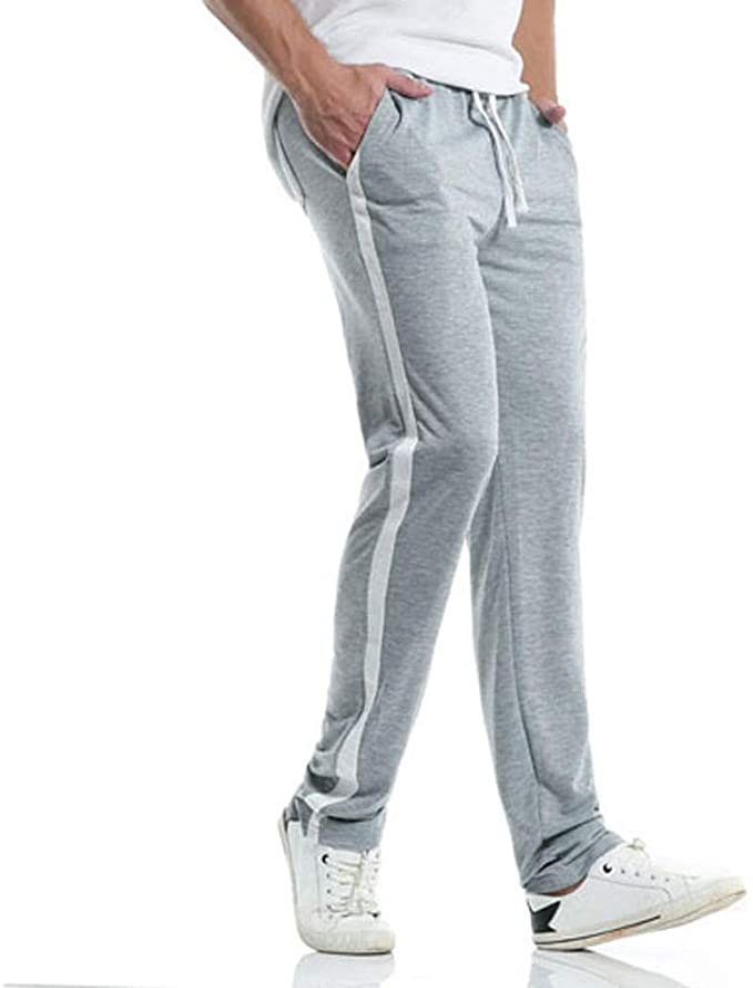 Tifiy Herren Jogginghose Trainingshose Summer Sport Fitness Gym Training Slim Fit Sweatpants Streifen Jogging Hose Cargohose Pants Amazon De Bekleidung