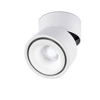 LANBOS luz de techo LED Lámpara de pared - luz de techo y pared, Led Downlight,Focos para el techo, luz blanco frío, 6000K,10 W, IP20, 10X10CM, ...