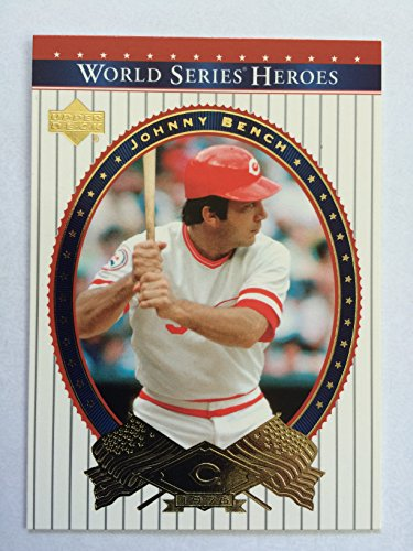 - 2001 Upper Deck World Series Heroes #67 Johnny Bench NM/M (Near Mint/Mint)