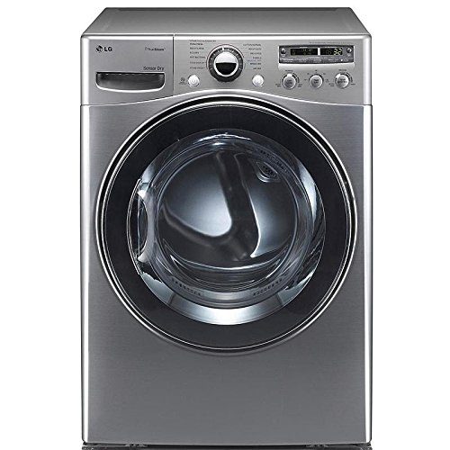 "LG DLEX3550V 27"" Graphite Steel Front-Load Electric Dryer..."