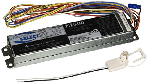 Lithonia Lighting EI500 M12 Contractor Select 500 Lumen Emergency Ballast for Fluorescent Fixtures