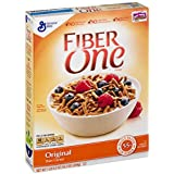 Fiber One, Original Bran, Whole Grain Cereal, 16.2 Ounce (Pack of 6)