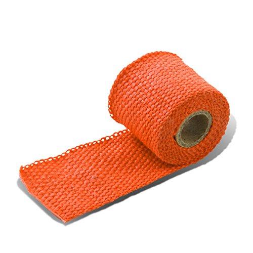 (5-Feet Exhaust Header/Catback/Turbo Manifold/Downpipe Heat Wrap (Orange))