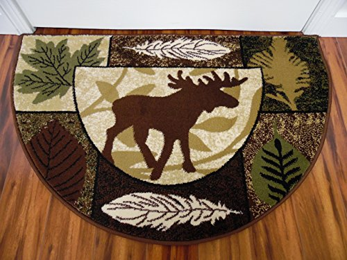 Art Carpet 841864119855 Hearth Rugs Collection, 2' x 3', Black/Brown from Art Carpet
