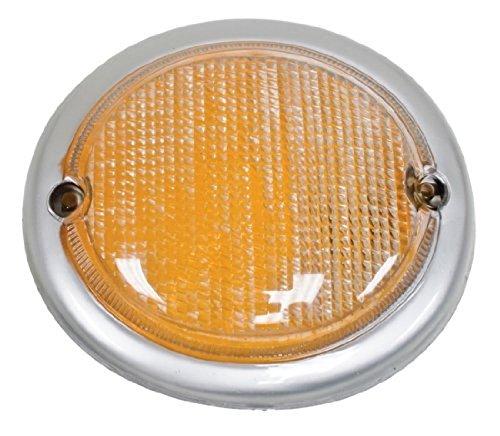 - EMPI 98-9641 Turn Signal Lens - Amber, Volkswagen, Type 2 VW Bus 63-67, Right Each
