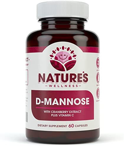 D MANNOSE Cranberry Extract Vitamin Urinary product image