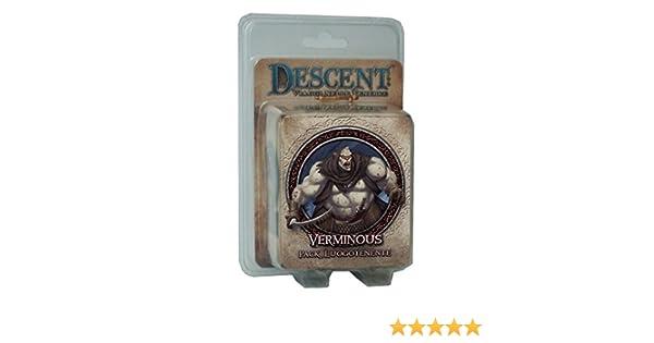 Giochi Uniti GU222 – Descent Seconda Edición Pack Luogotenente BolGoreth Edición Italiana: Amazon.es: Juguetes y juegos